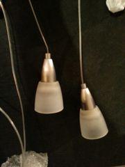 Pendelleuchte Lampe Metall gebürstet
