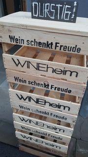 Weinkiste Weinsteige aus Holz