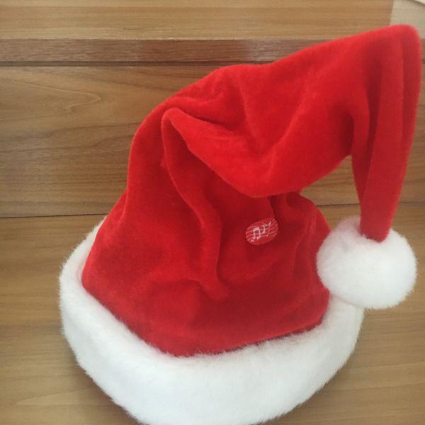 singende u tanzende Santa Mütze