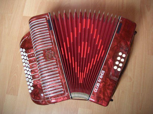 Handharmonika Ziehharmonika diatonisches Akkordeon Marke