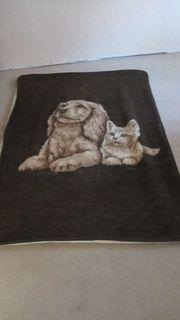 Decken mit Tiermotiv 2Stück