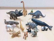 14 SCHLEICH-Tiere darunter 6 Dinos