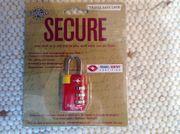 TSA Sicherheits-Gepäckschloss