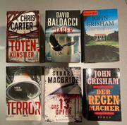 Bücher Thriller Krimi