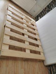 Echtholz Bett Palettenstil