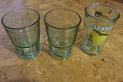 3 Bacardi Gläser Longdrink 2x
