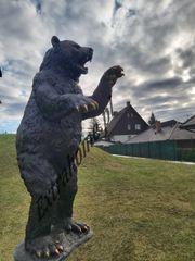 Bär Einzigartige Bronzeskulptur H200cm Teddybär