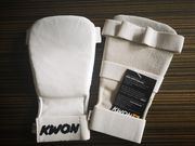 Neu Kwon Handschutz Handschuhe LEDER