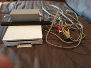 Wii Konsole Controller und zwei