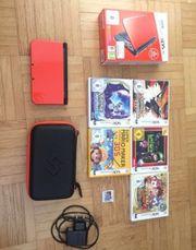 Nintendo 3DS XL mit Spielem