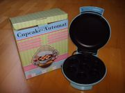 Cupcake Automat in pastell blau
