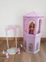 Barbie Rapunzel Rapunzelturm Hochzeitsbogen Hochzeitstorte