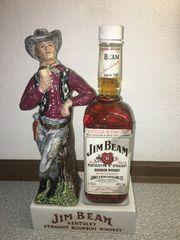 Porzellankultfigur Jim Beam Cowboy