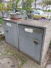 Mülltonnenaufbewahrung Waschbeton