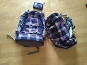 Schulrucksack von Satch mit Sporttasche