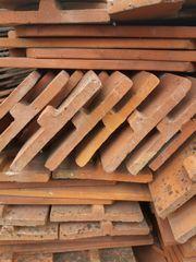 Biberschwanz-Dachziegeln gebraucht