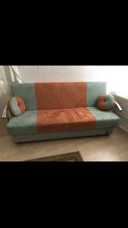 Sofa Couch 3er mit Schlaffunktion
