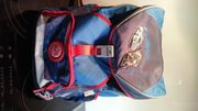 Ergopack Schultasche mit Turntasche blau