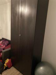 IKEA PAX Schrank schwarz 236cm