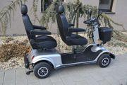 Alpenmobil Tandem - elektrisches altersgerechtes Invalidenfahrzeug
