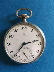 Omega Taschenuhr antik voll funktionsfähig