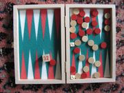 Backgammon-Spiel Reiseversion