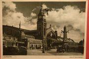 AK historisch Hamburg Bahnhof 1939