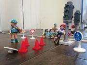 Playmobil Kinderfahrrad und Inlineskater