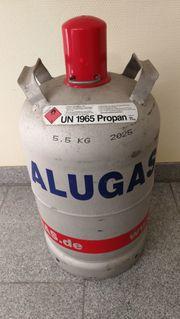 Gasflasche Aluminium - leer