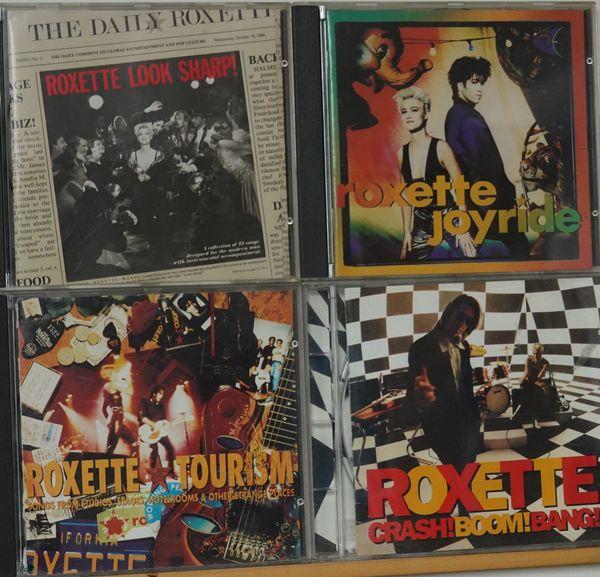 4 CD s Roxette