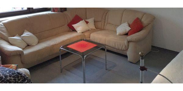 Couch Garnitur mit Sessel Velour