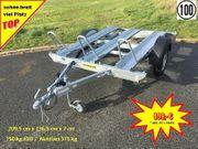 Humbaur - 750 kg - Motorradanhänger HM