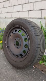 4 Reifen auf Felgen