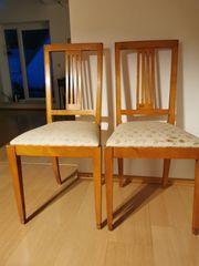 Esstisch mit Stühlen aus Kirschbaumholz