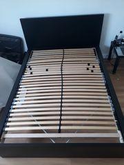 MALM Bettgestell schwarzbraun 140x200 cm