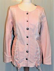 Rosa Shirt-Jacke Oberteil Pullover von