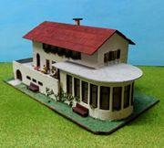 Faller 219 Hotel Cafe Holzmodell