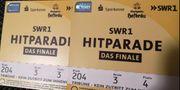 3x Sitzplatz SWR1 Hitparade in