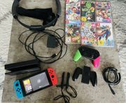 Nintendo Switch Ringfit Spiele