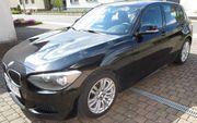 BMW 116i M Packet Schwarz