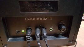 Soundkarten, Lautsprecher - Creative Inspire 2400 2 1