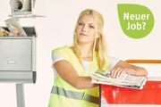 Job Nebenjob Minijob - Zeitung austragen