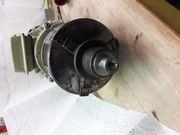 Kraftstrommotor mit 3 Backenfutter