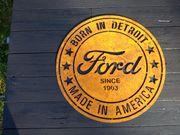 Cortenstahl Edelrost Logo Ford Born