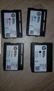 Druckerpatronen HP932XL und 3x 933XL