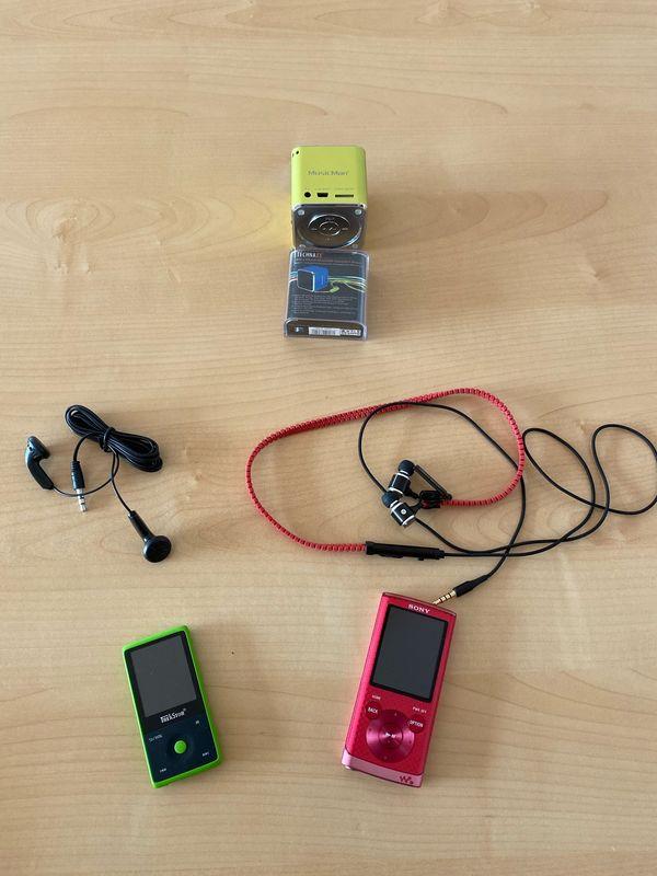 MP3 Player und Musikbox