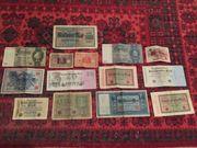 Alte Reichsbanknoten