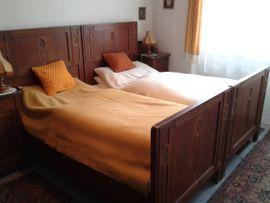 Sonstige Möbel antiquarisch - Jugendstil Schlafzimmer