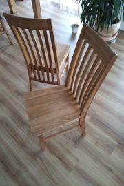 Massivholz Stuhl Silas Eiche massiv