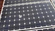 200 WP Solarmodul monochristallin beschädigt